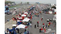 Watkins Glen pit lane