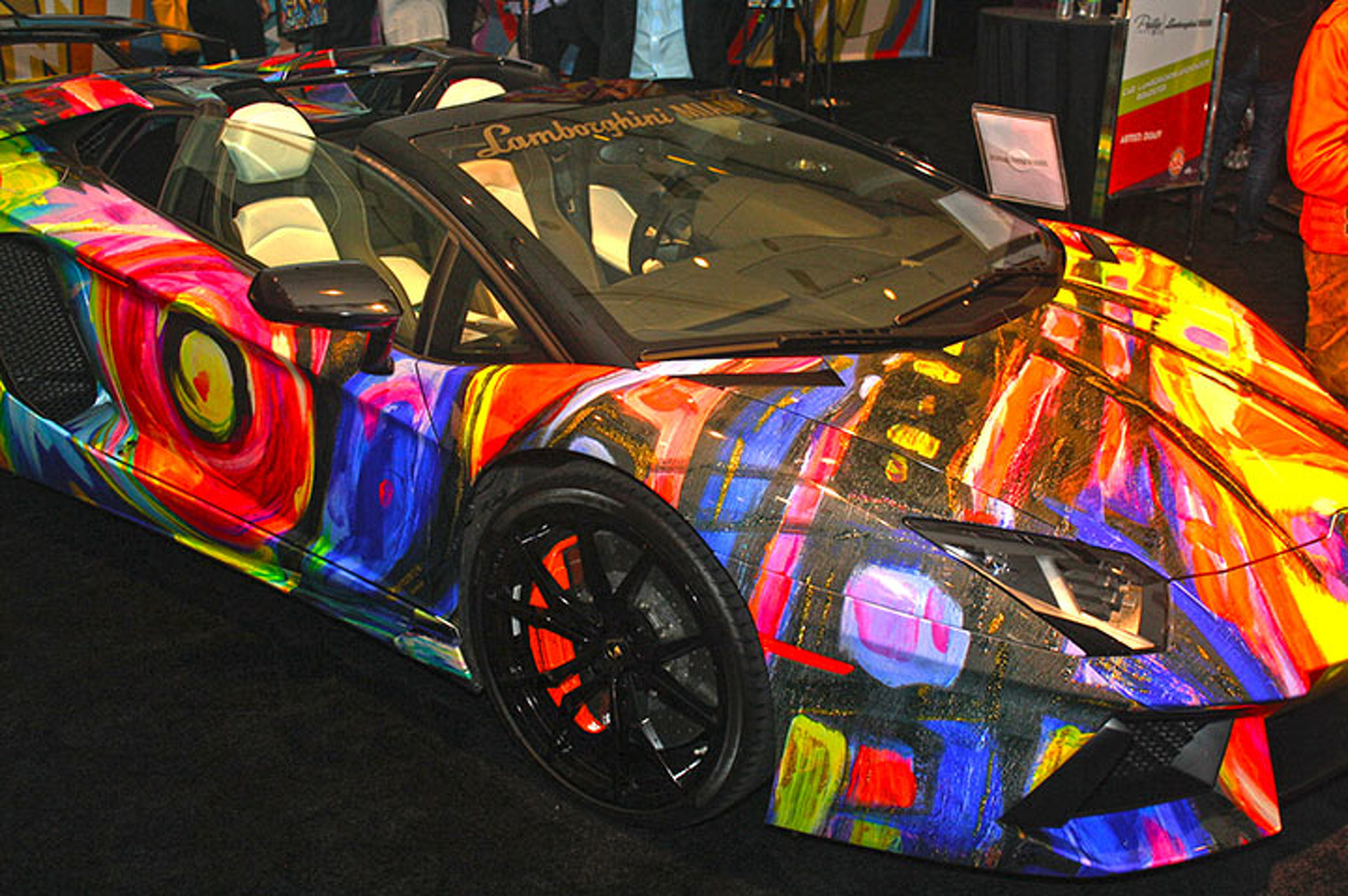 Cars Meet Art Turns Auto Show into Stunning Art Gallery