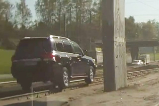 Video: Here is one way to avoid traffic