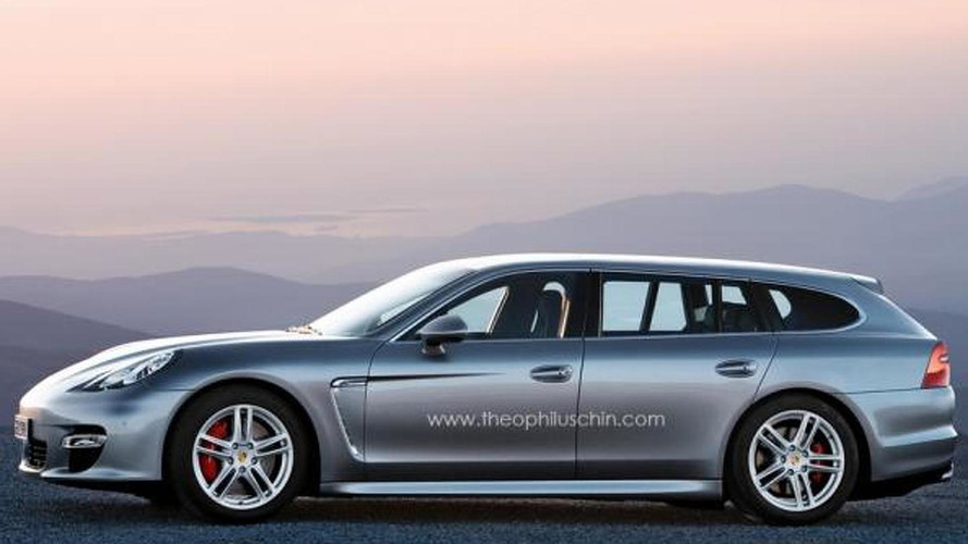 Porsche Panamera wagon concept confirmed for Paris Motor Show