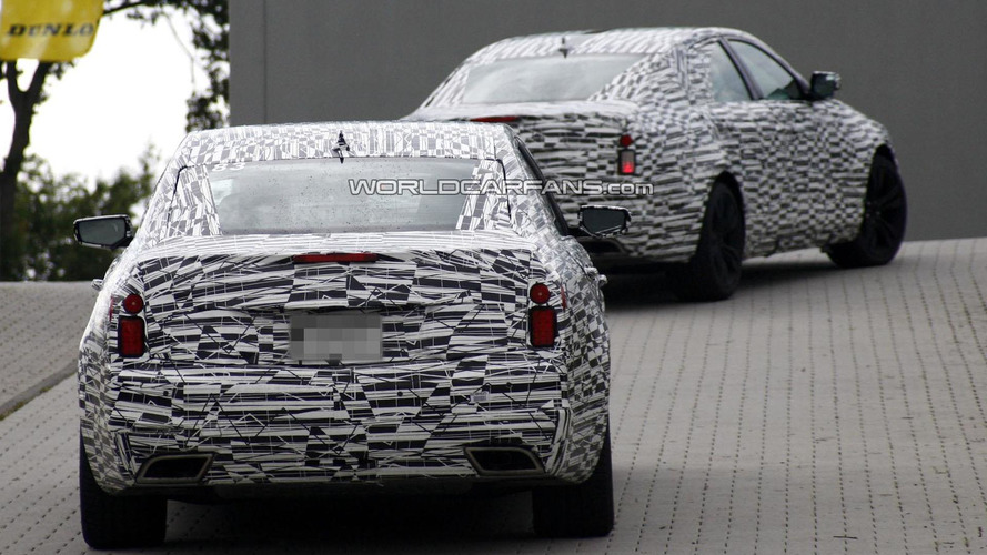 2014 Cadillac CTS spied in motion near Nürburgring [video]