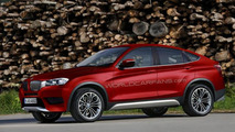 BMW X4 speculatively rendered