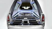Rolls Royce Phantom hearse is a banging way to go