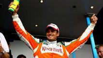 Fisichella tempts Ferrari with Spa pole