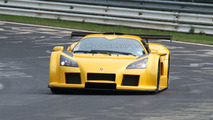 Modified Gumpert Apollo Sport spotted at Nurburgring