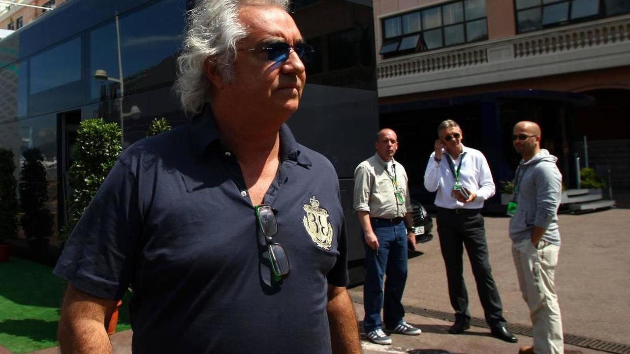 Flavio Briatore at the 2010 Monaco Grand Prix