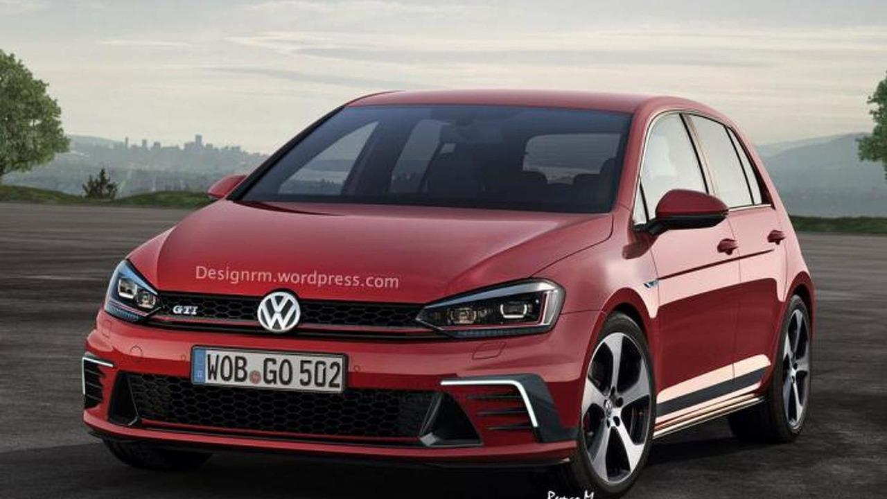 2017 Volkswagen Golf GTI render