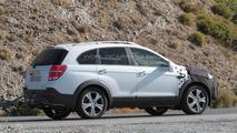 2015 / 2016 Chevrolet Captiva Facelift spy photo