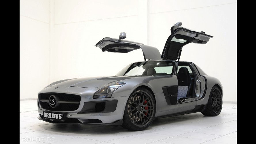 Brabus Mercedes-Benz 700 Biturbo based on the SLS AMG