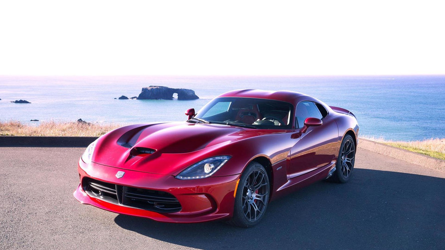 2013 SRT Viper goes up for order, has a top speed of 206 mph