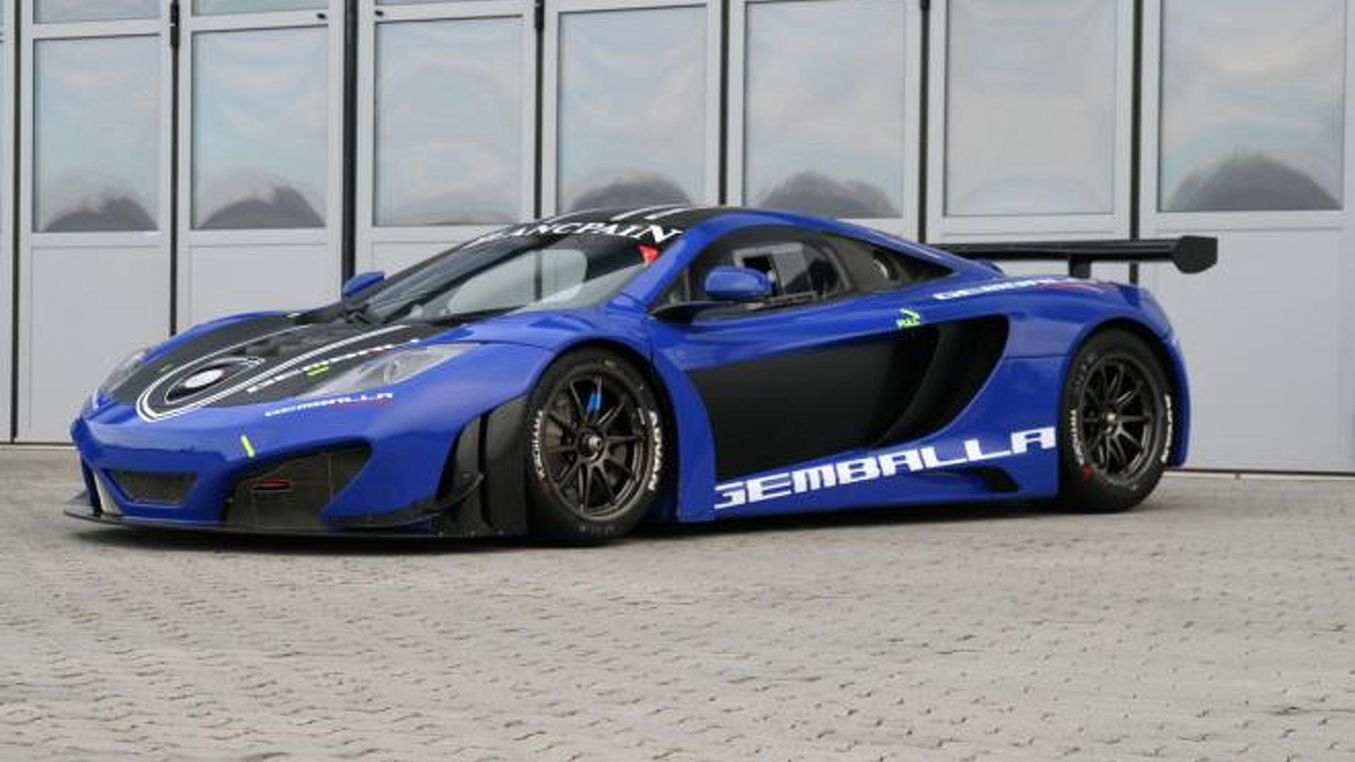 2012 mclaren mp4 12c gt3 by gemballa racing up for sale. Black Bedroom Furniture Sets. Home Design Ideas