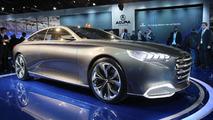 Hyundai HCD-14 Genesis Concept live in Detroit 14.01.2013