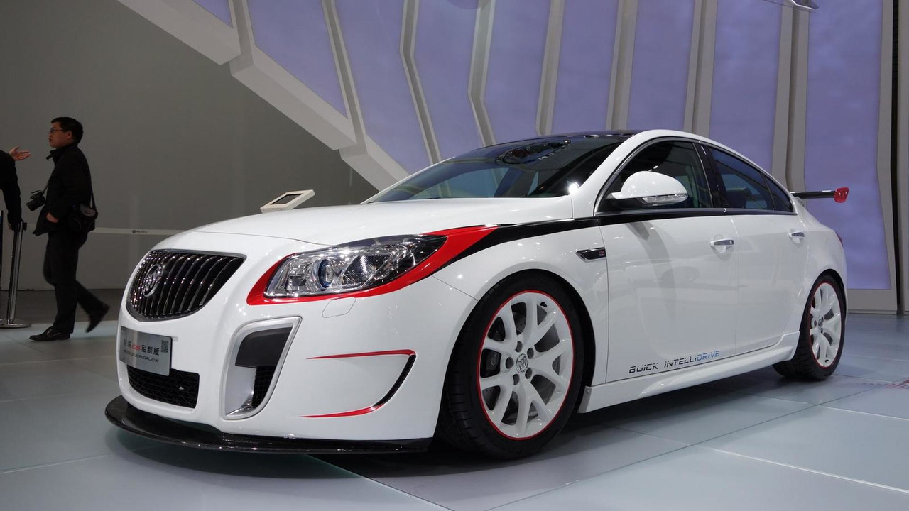 Buick Regal GS sedan at 2013 Auto Shanghai
