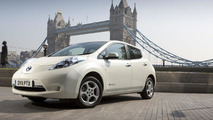 Nissan Leaf denied backwards hill climb attempt at Goodwood