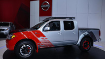Nissan Frontier Diesel Runner concept live in Chicago
