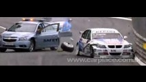 Vídeo: Chevrolet Cruze Safety Car entra na hora errada e causa colisão em corrida da WTCC