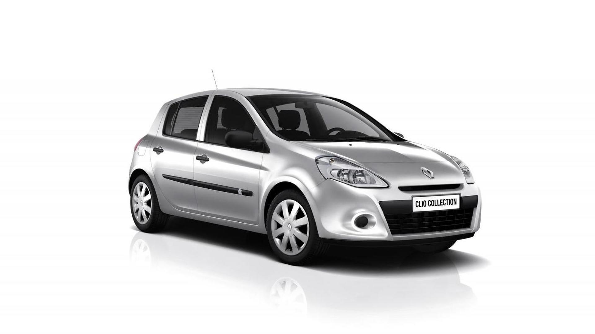 Third-gen Renault Clio lives on as the 'Collection'
