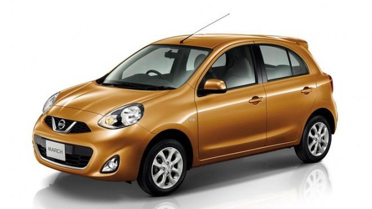 2013 Nissan Micra/March facelift 24.03.2013