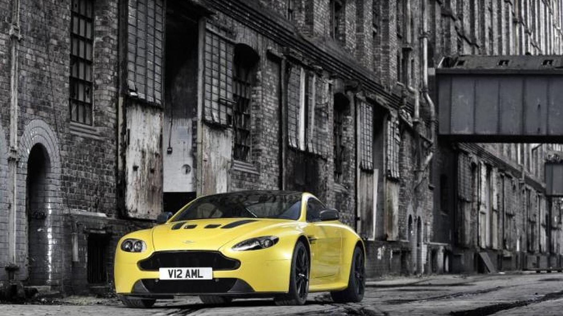 Aston Martin V12 Vantage S officially revealed [video]
