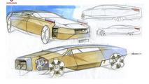 Russian presidential limo concept by Roman Krutikov 25.2.2013