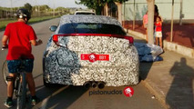 2016 Honda Civic spy photo / pistonudos.com