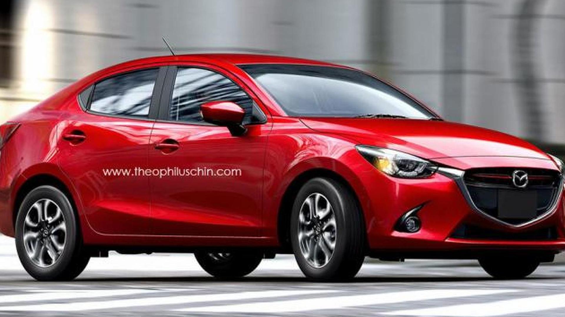 Mazda2 Sedan confirmed for Thailand Motor Expo debut