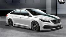 Hyundai JP Edition Sonata previewed ahead of SEMA debut