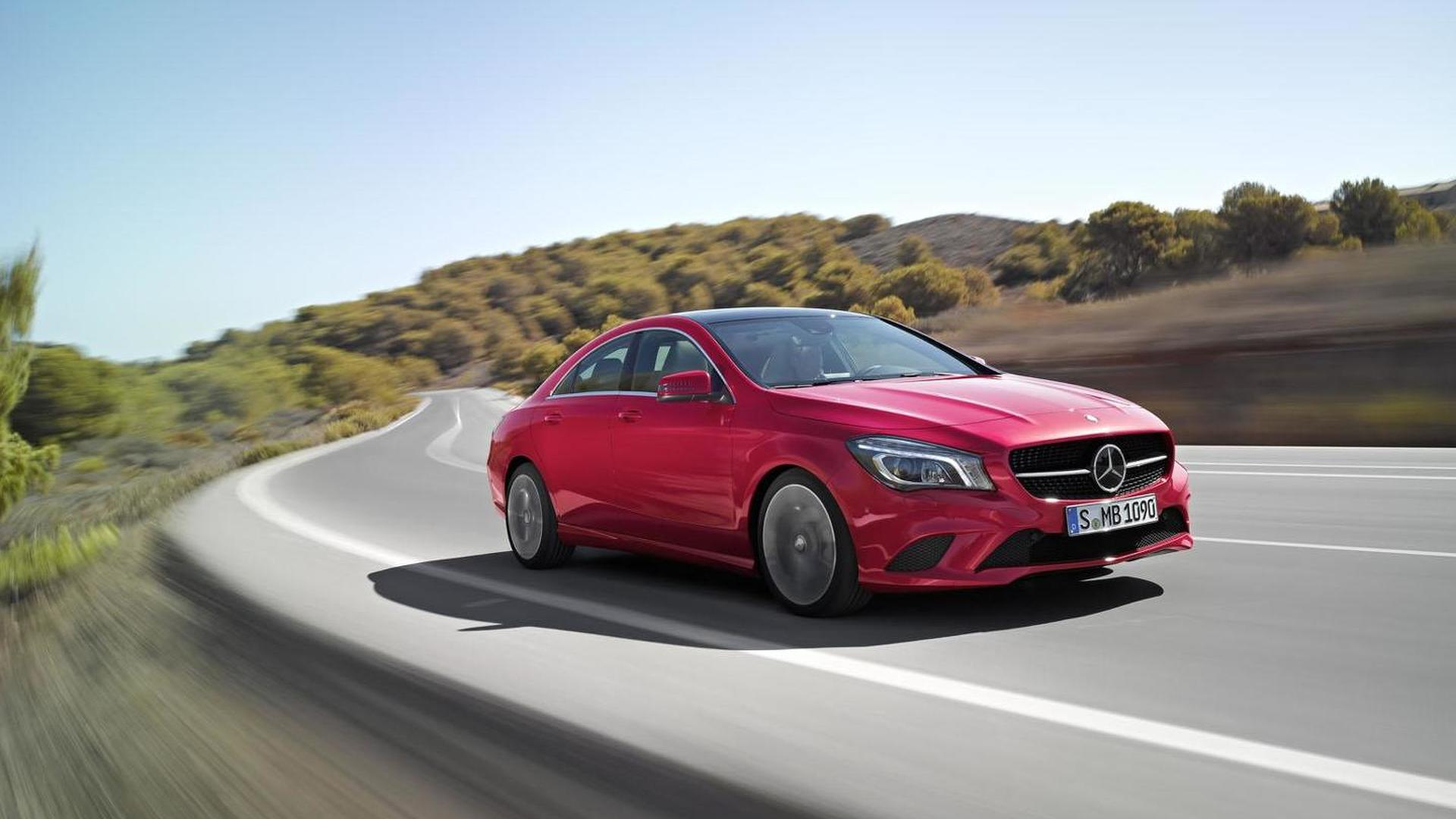 2015 Mercedes CLA revealed with more power & upgraded technology