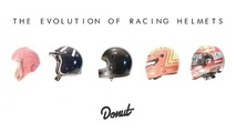 Check out the remarkable evolution of racing helmets over the last 100 years