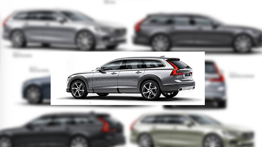 Undisguised Volvo V90 Cross Country possibly leaks out