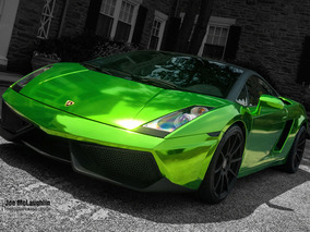 Lamborghini Gallardo Gets Gaudy in Green