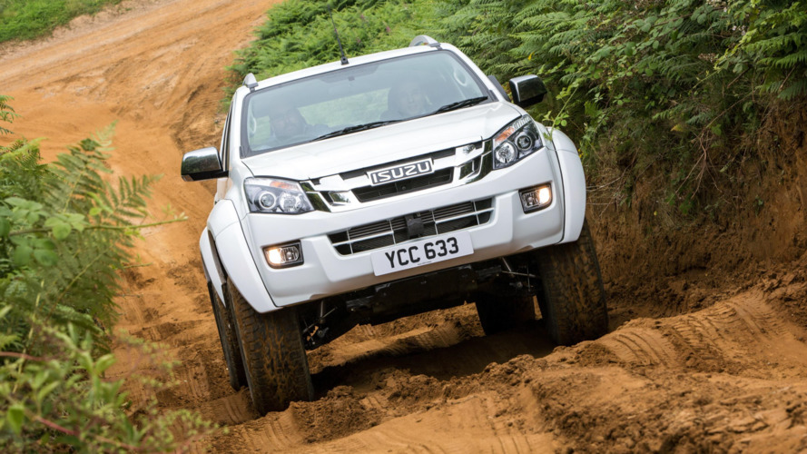 Glacier-climbing Isuzu D-MAX Artic Trucks launches in UK