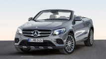 Mercedes GLC Convertible rendering