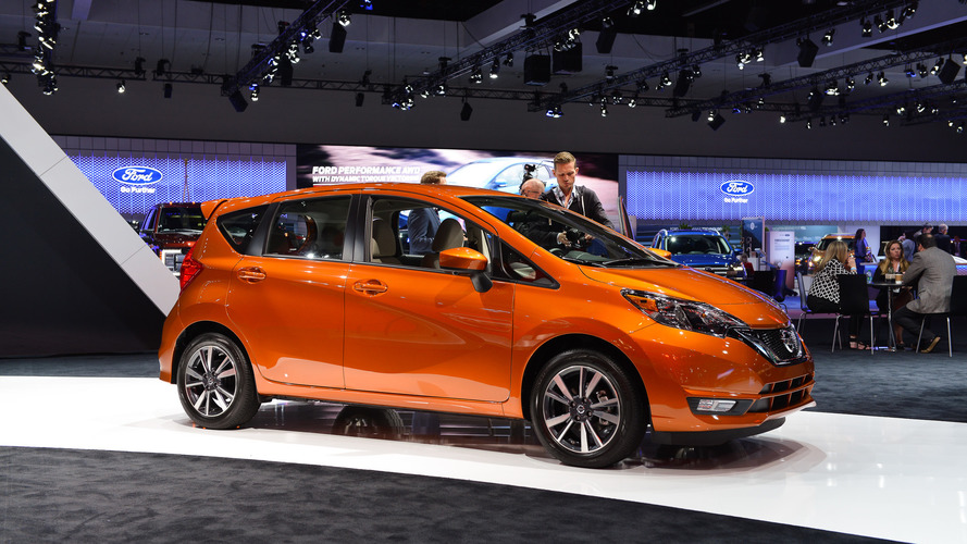 2017 Nissan Versa Note comes to L.A with mild refresh