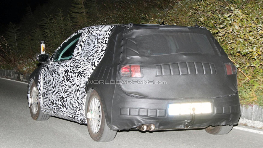 2013 Volkswagen Golf VII spied in Europe
