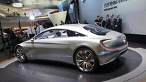 Mercedes-Benz F 125! research vehicle live in Frankfurt 13.09.2011