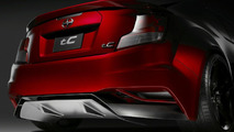2011 Scion tC Gets Five Axis Treatment in New York