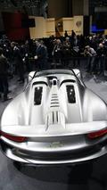 Porsche 918 Spyder Hybrid Concept live in Geneva 02.03.2010
