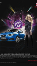 SEAT Good Stuff campaign with Shakira 11.02.2010