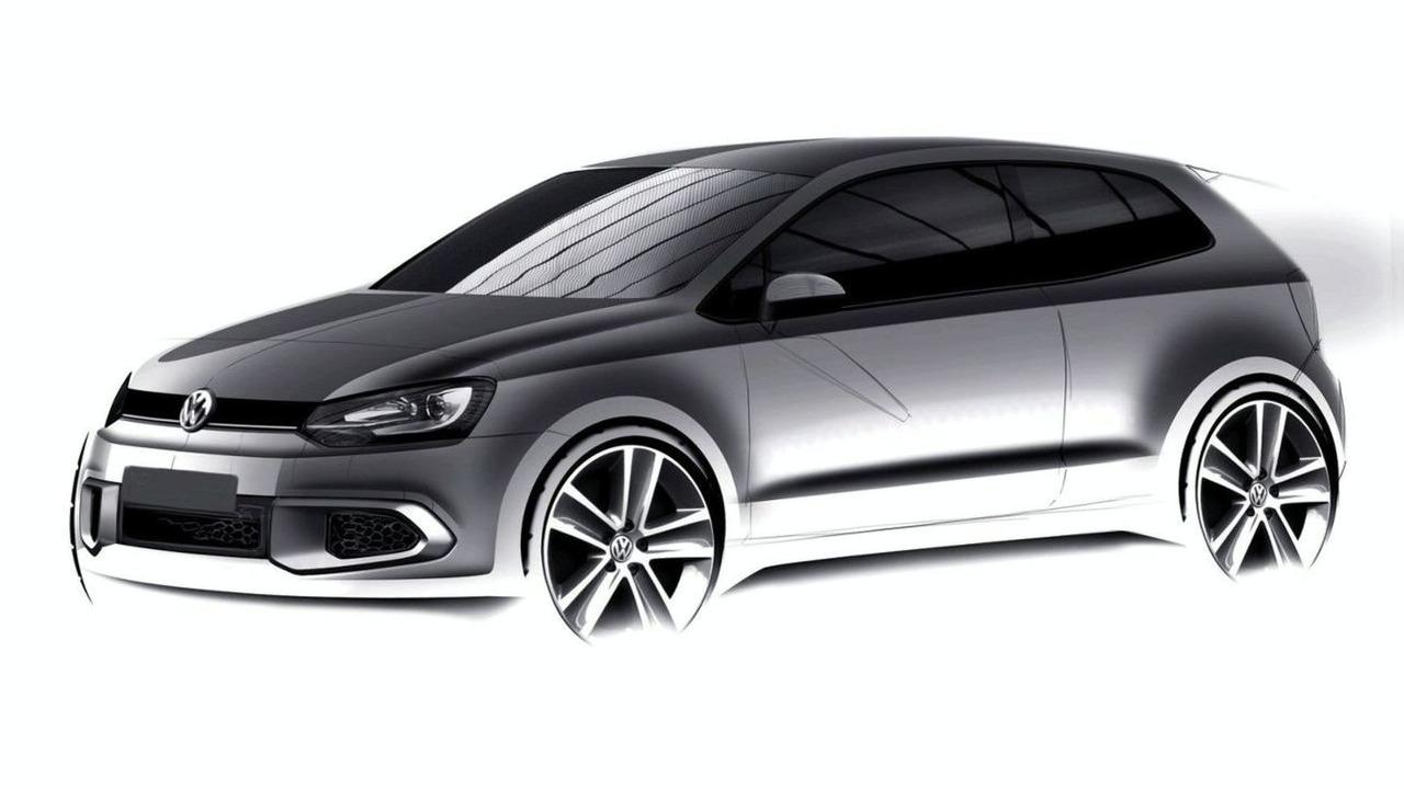 2010 VW Polo 3-door design sketch