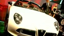 See Alfa Romeo 8C Spider Being Presented in Geneva