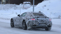 Mercedes AMG GT spied with a four tailpipe exhaust system, could be the S variant