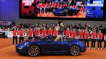 Maria Sharapova Porsche ambassador