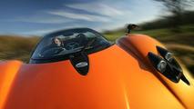 Pagani Zonda F Roadster Test Drive