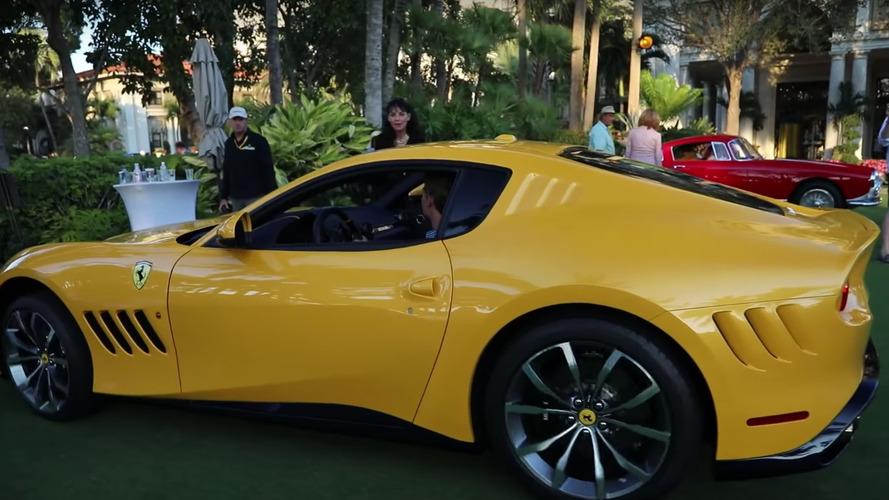 VIDÉO - À 16 ans, il conduit l'une des Ferrari les plus rares !