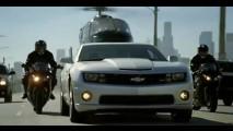 Muita ação no novo comercial do Camaro