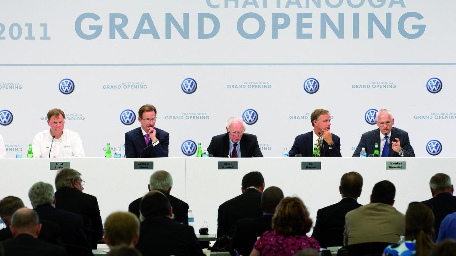 Little Darth Vader opens VW's Chattanooga plant [video]