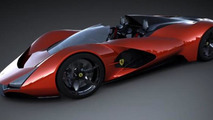 Ferrari Aliante Concept envisions extreme two-seat roadster [video]