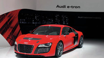 Audi officially resurrects the R8 e-tron, will use different batteries