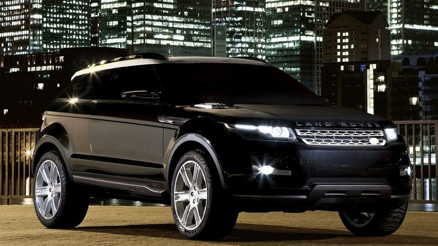 Updated Land Rover LRX Concept set for Geneva